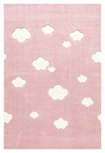 KIDS LOVE RUGS Dywan CLOUDS pink 120x180