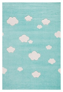 KIDS LOVE RUGS Dywan CLOUDS mint 160x230
