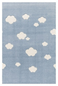 KIDS LOVE RUGS Dywan CLOUDS blue 160x230